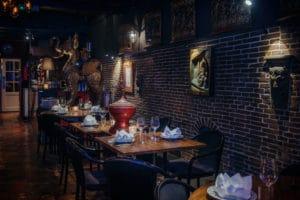 de Kooning van Siam, het thaise restaurant in Amsterdam